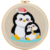 Sell high quality embroidery kit interior home decoration cute penguin cross stitch