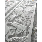 Carved sandstone Flowers decorate interior Sandstone Wall Cladding Panel