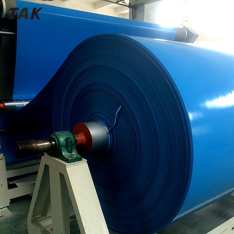 Good Price 650gsm PVC Tarpaulin Tarpoline Material Roll Per Meter