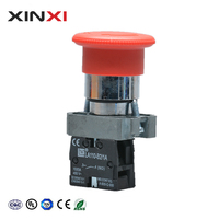 XINXI Hot New Products 220V 2 Pin Small Push Button Switch