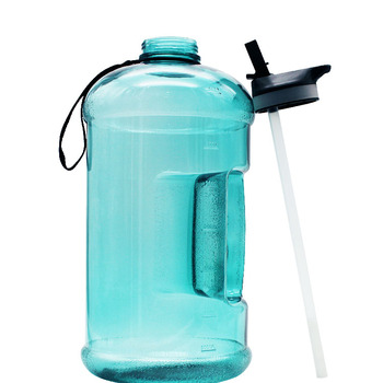 hot selling large capacity motivational one gallon water bottle bpa free, one gallon gym fitness water bottle sports