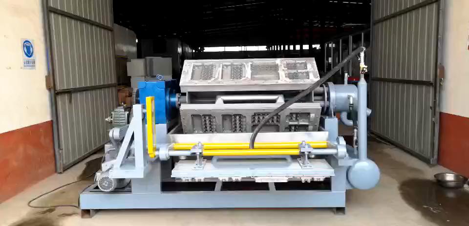 Китайская заводская цена, линия по производству лотков для яиц, машина для производства картона с сушильным оборудованием