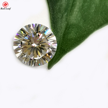 Wholesale High Quality cubic zirconia White 10.0mm Round Diamond Cut Zircon stone Synthetic CZ gems