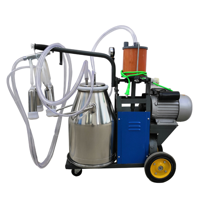 High-efficiency industrial best for dairy farm portable mobile mini automatic camel buffalo goat cow milking machine