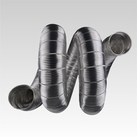 aluminum kitchen exhaust flexible duct corrugated pipe