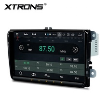 "XTRONS 1 din 9 ""grande schermo android <span class=keywords><strong>autoradio</strong></span> lettore multimediale con il gps per skoda octavia vw passat b6"
