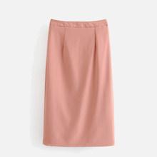 Женский брючный костюм с юбкой, Офисная Женская юбка с высокой талией, однотонный двубортный розовый пиджак, весна-осень 2020(Китай)