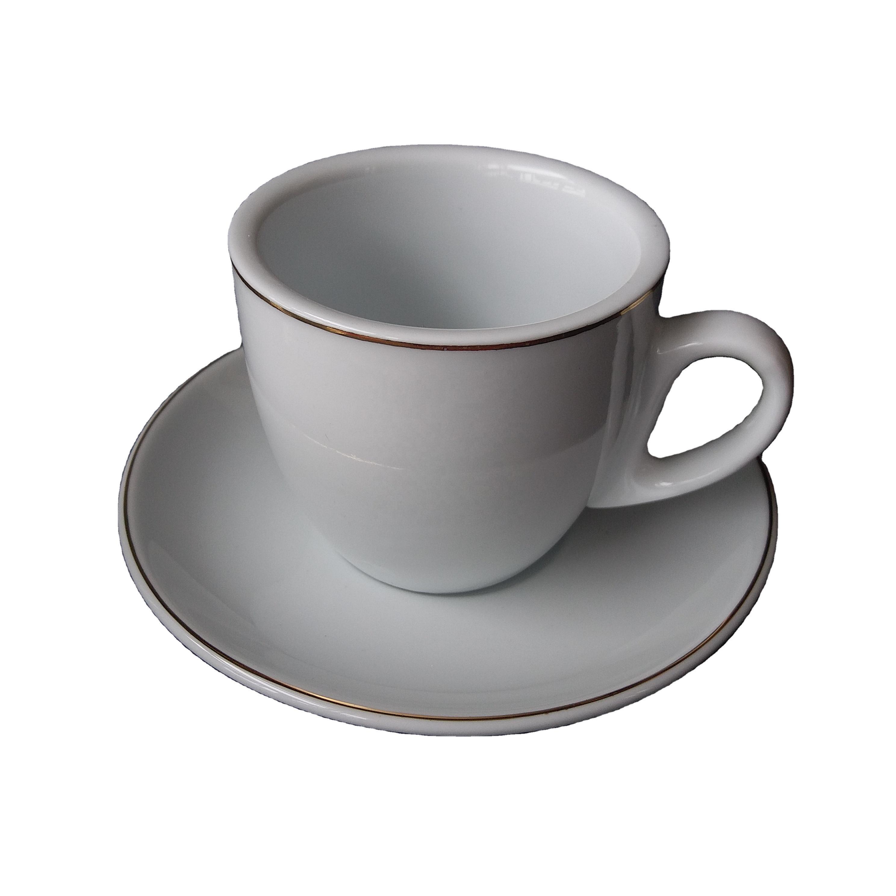 Tasse 200ml mit Unterteller (für Kaffee, Tee etc