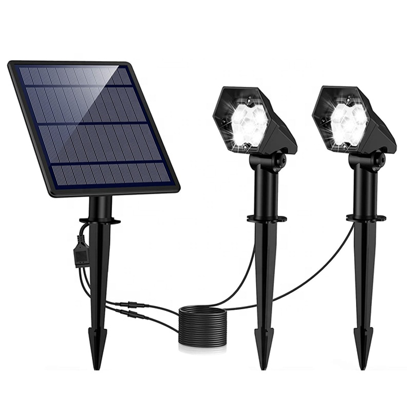 newest high quality innogear upgraded solar spotlight led best yard solar spotlights 2020
