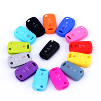 Factory OEM Design rubber plastic car key cover