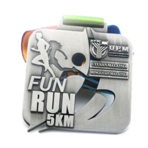 Custom Metal Running Marathon Medal