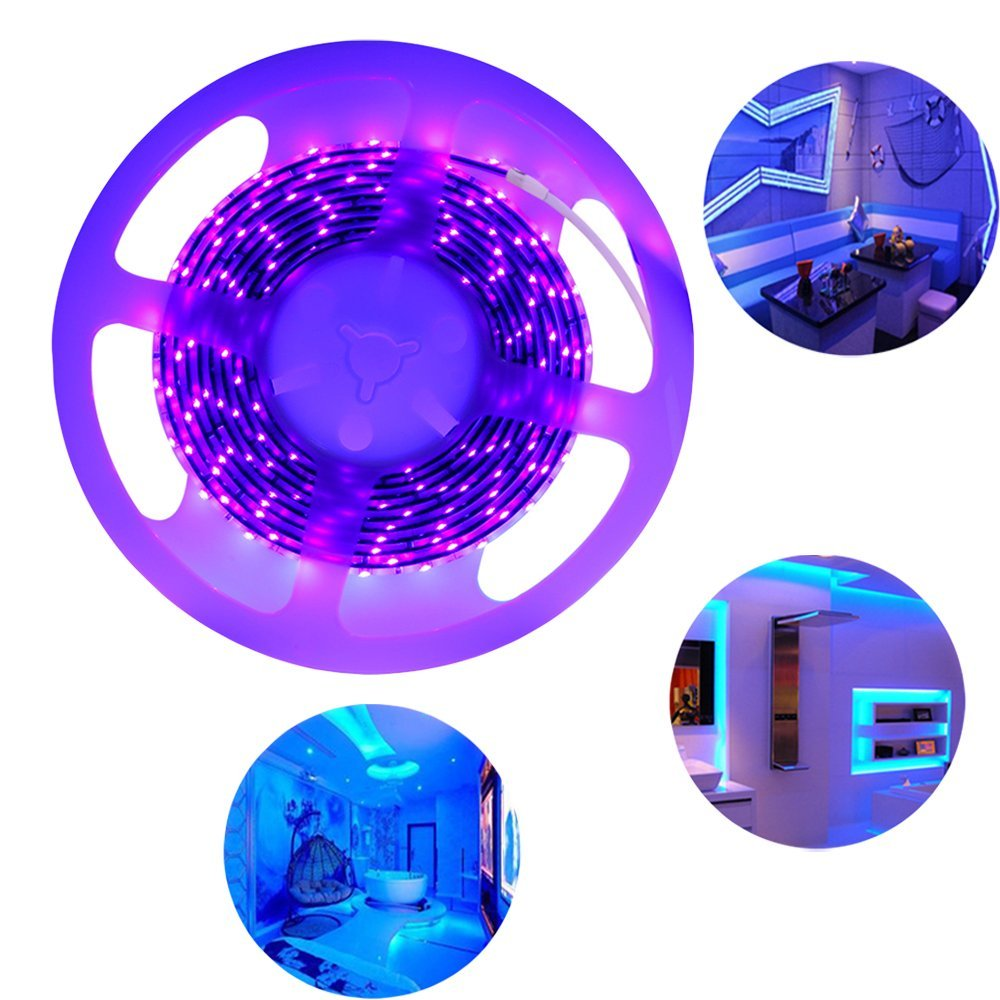 Germicidal 254 nm 254nm UV LED UVC Strip Light For Air Conditioning Wall Units Ductless System ac's Models Installation