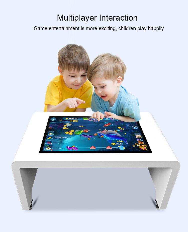 55 inch Tea table LCD screen digital coffee LCD capacitive touch table