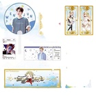 custom print kpop slogan plastic transparent hand fan