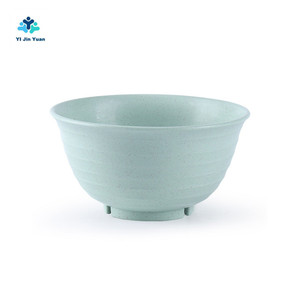 New Product Wholesale Biodegradable and Compostable Multiple Colors Eco-Friendly Wheat Straw Plastic Soup Bowls Set
