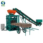 Hydraulic Pressure Method and Brick Production Line Processing concrete block making machine