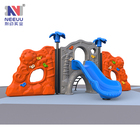 LY13901 Forest climbing series newest child sports nature park climbing series playground equipment with slide for sale