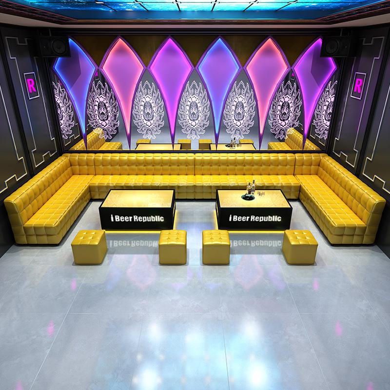Personnalisé boîte KTV discothèque bar salon club meubles canapé