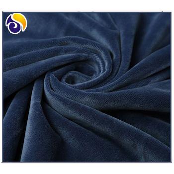 100%Polyester Knitted Micro Velboa/Super Soft Fleece Velvet Fabric