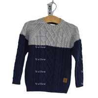 Latest Men's Autumn Winter Thick Pullover Sweater With Cables And Diamond Structure