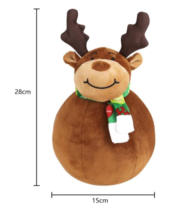 Christmas Decorations Snowman / Reindeer / Santa Claus Standing Doll Decoration Plush Doll Toys