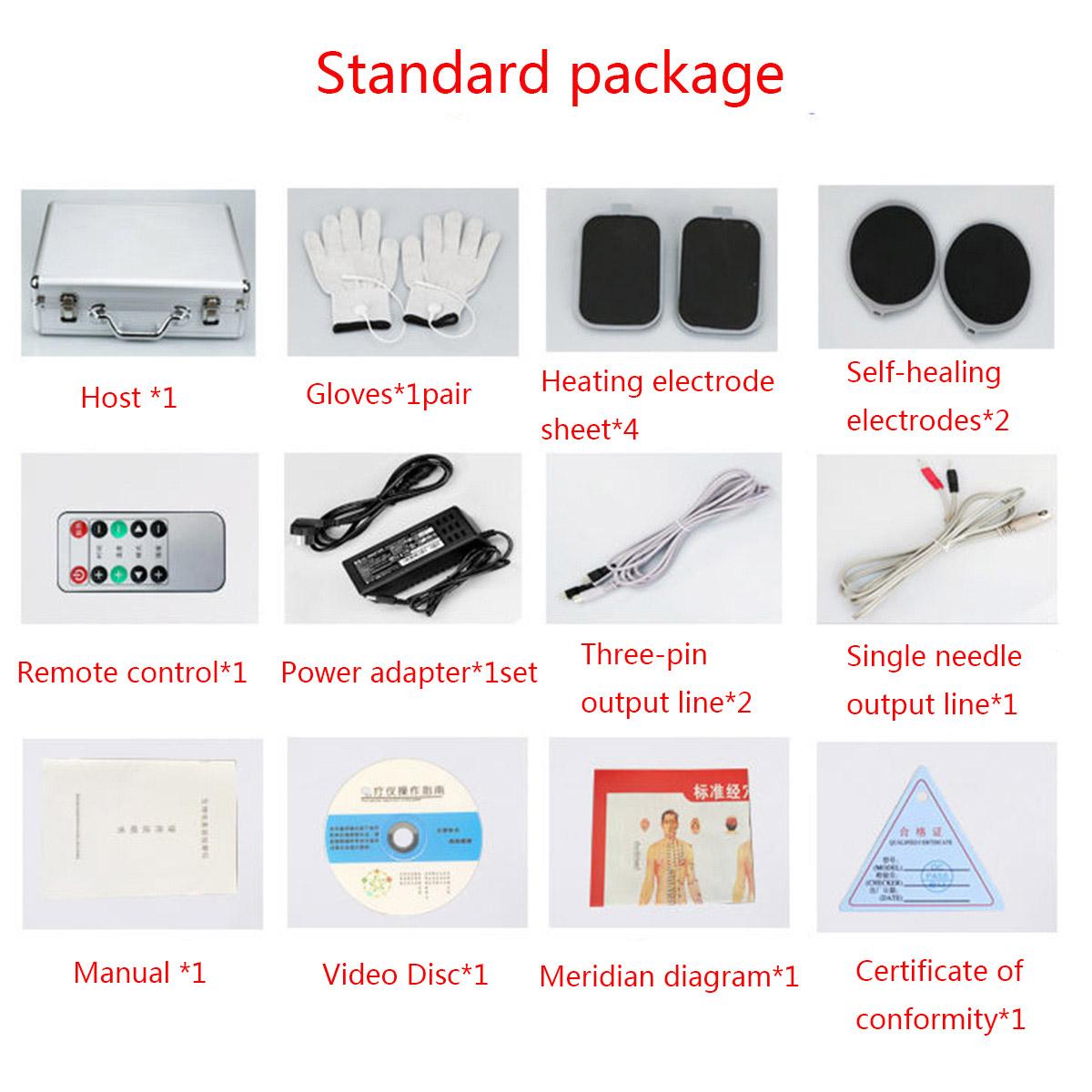 JYTOP DDS Massager Multi-function Body Bioelectric Meridian Dredge Massage tools