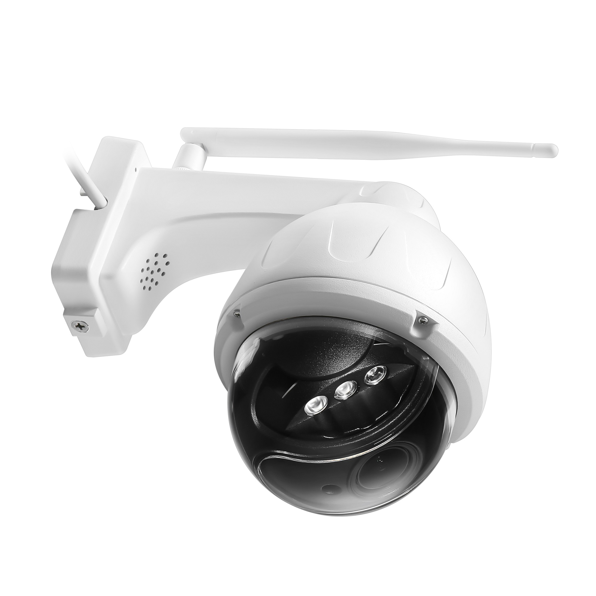 Newest 5MP wireless outdoor dome PTZ IP camera