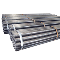 Erw round pipes carbon steel Q235 / Q345 with ceramic coated for Oxygen Lancing Tubes