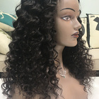 Wigs Timia Human Virgin Hair Non Lace Remy Hair Wigs Middle Open Deep Wave Upart Wigs