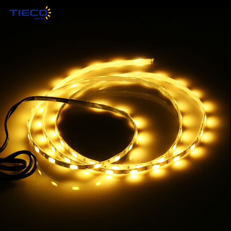 China Supplier Copper 220-240V Connectable 50M 100M Warm White RGB LED Strip Lights 100M/Roll