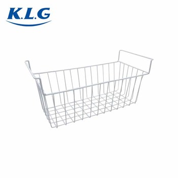 Wholesale customized size portable metal wire mesh basket storage for chest freezer