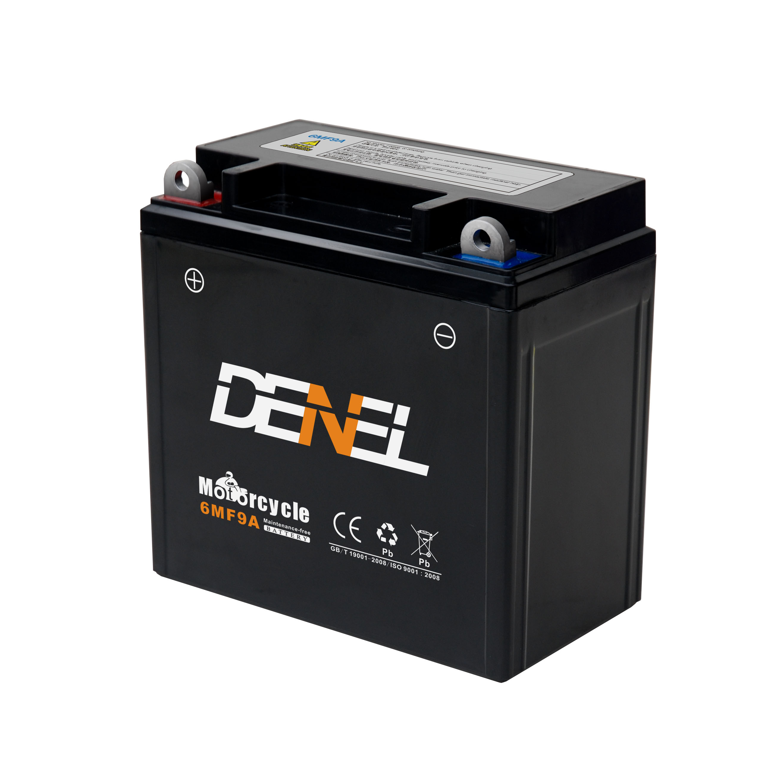 12n9-bs Battery Sealed maintenance free generator use start battery for Egypt market 6MF9A