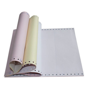 Economic and reliable colored carbonless paper