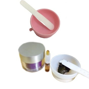 Beauty Personal Face Mask Mixing Tool Sets Silicone Facial Mask Bowl