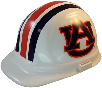 Auburn Tigers NCAA hardhat with Ratchet Suspension
