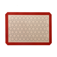 Heat Resistant Fiberglass 100% Food-grade Reusable Silicone Baking Mat
