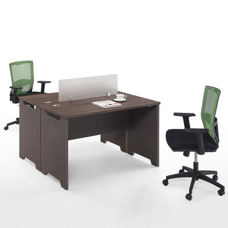 Moderno 2 Persona centro de la estación de trabajo de cubículo de oficina