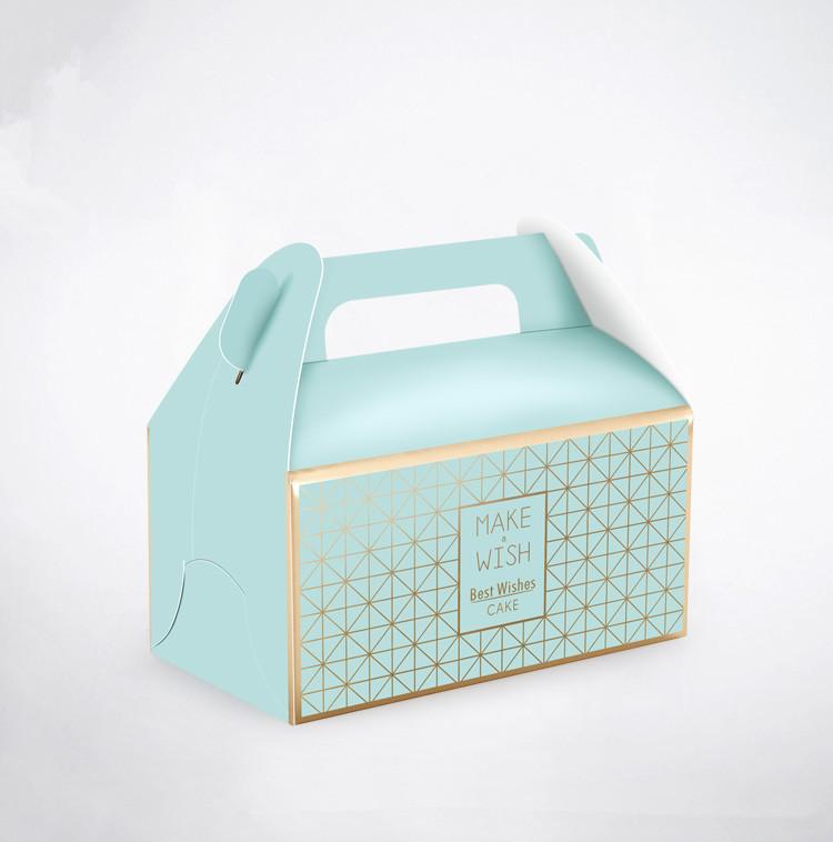 Оптовые дешевые подарочные коробки для тортов, оптовые продажи, картонная бумажная упаковка для печати логотипа на заказ, коробка для торта на день рождения, свадьбу