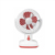 high power rechargeable  mini fan with USB and LED function