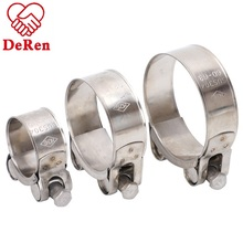 Tipe Amerika Jerman Jenis Stainless Steel <span class=keywords><strong>Selang</strong></span> Clamp Super Hose Clamp