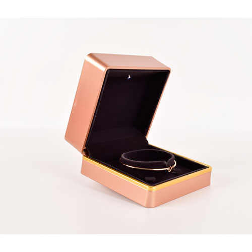 Jewelry package manufacturer luxury led ring packing box