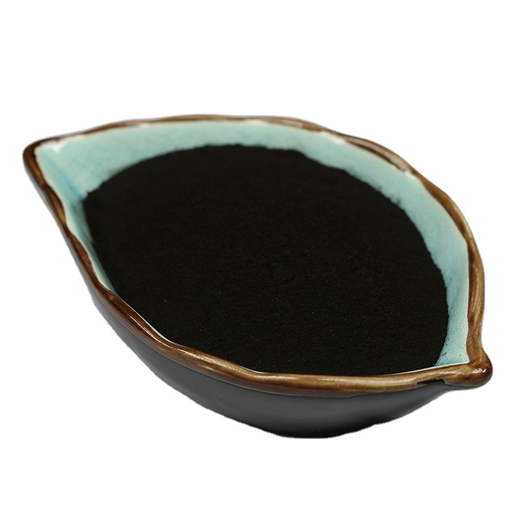 Organic Fulvic Acid Good Water Soluble Fertilizer Fulvic Acid Black Powder