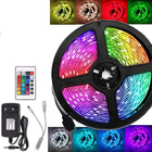 Rgb Trending Hot Selling Products Assignable Led Strip Light RGB SMD 5050 With Remote DC12V Waterproof Ip65 Indoor Decorations Light