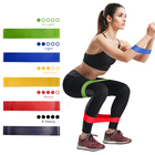 Rubber Resistance elastic Bands For Fitness Indoor Yoga Gym Equipment Body Strength Training Set Workout Bands