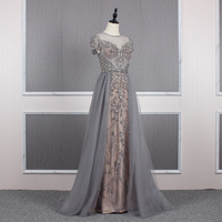 YY19 2019 autumn winter new design heavy beaded party sequin young ladies evening dresses