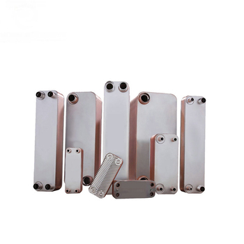 Low price brazed plate heat exchanger for heating evaporator and condenser