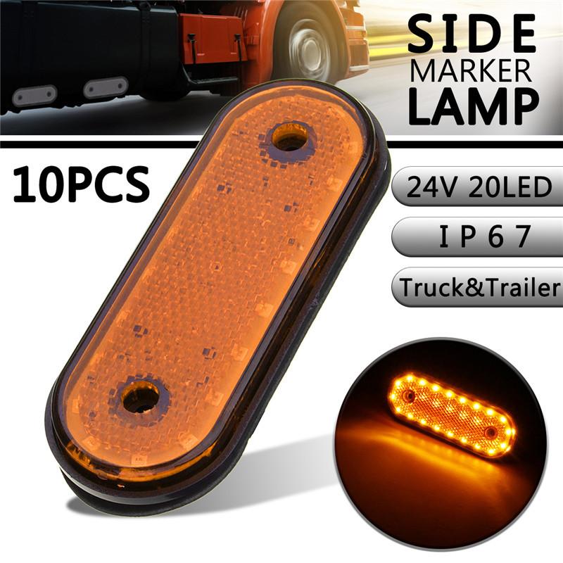 NSSC 12V Truck LED Light Side Marker Light for F150 Pickup 1999-2010