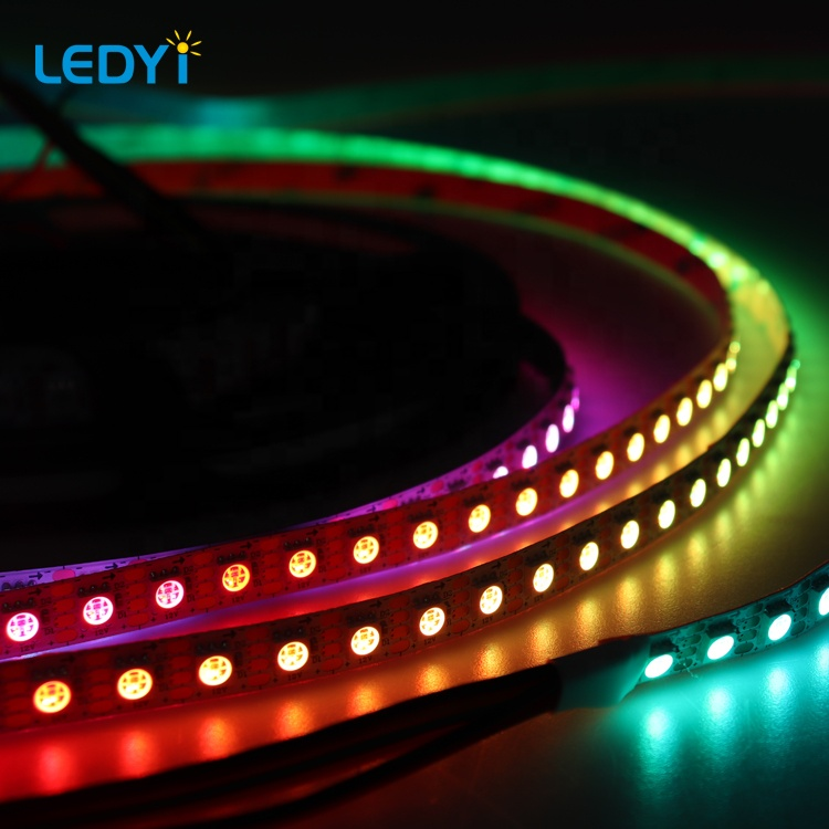 1led cuttable single pixel addressable magic color 8808Bic digital RGB color flexible led strip light