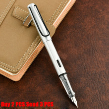Классический дизайн, Высококачественная брендовая чернильная ручка офисная, деловая, мужская, гладкая, для письма, подарочная ручка купить ...(Китай)