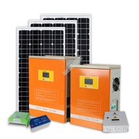 5KW 10KW Complete Home Solar Panel / 2KW 3KW Solar System With Battery Backup